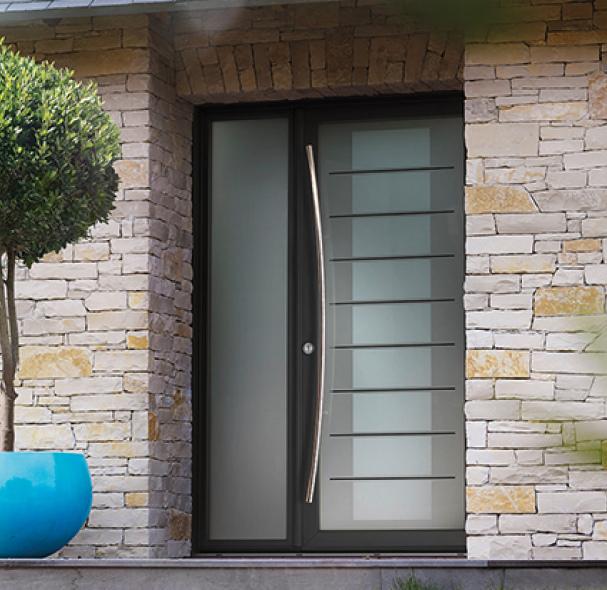 Fenêtre à Frappe Bois Aluminium Meo Fabricant De Fenêtres Sur Mesure